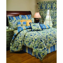 COOL KIDS ROOMS Waverly Imperial Dress Porcelain Comforter Set 4 Pcs