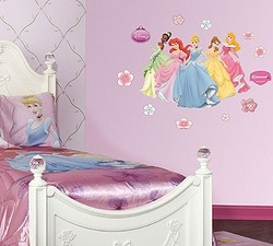COOL KIDS ROOMS Disney Princess Collection Junior Wall Graphic
