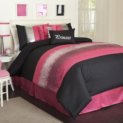 COOL KIDS ROOMS Night Sky Pink 5 Piece  Comforter Set