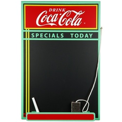 COOL KIDS ROOMS Coca-Cola Wood Chalkboard