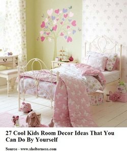 COOL KIDS ROOMS 27 Cool Kids Room Decor Ideas That You Can Do By Yourself