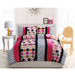 COOL KIDS ROOMS Dani Dot Hot Comforter Set 3 Pc Full