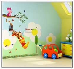 COOL KIDS ROOMS Winnie the Pooh Peel & Stick Wall Decal
