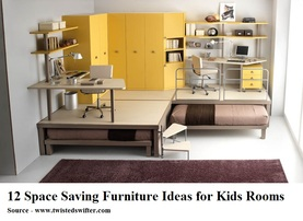 COOL KIDS ROOMS 12 Space Saving Furniture Ideas for Kids Rooms