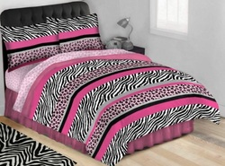 COOL KIDS ROOMS Jungle Queen Complete Bed Set, Twin Size