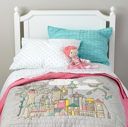 COOL KIDS ROOMS Ever After Fairy Tale Bedding and Decor