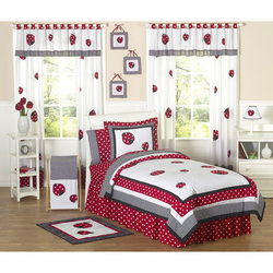 COOL KIDS ROOMS Little Ladybug Kid Bedding Collection