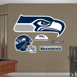 COOL KIDS ROOMS NFL Seattle Seahawks Team Logo Wall Decal