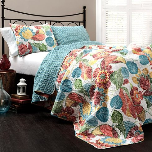 King or Queen 3 Pc. Bedding Set