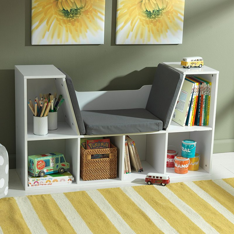 KIDKRAFT BOOKCASE AND READING NOOK