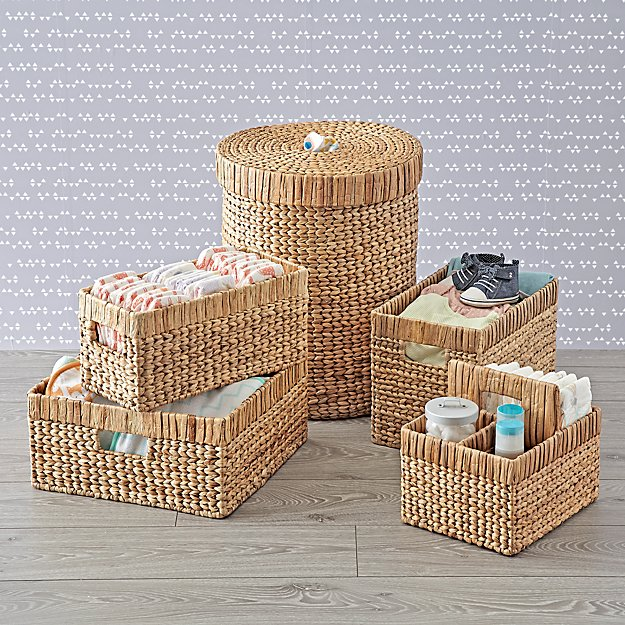 Wicker Natural Nursery Collection